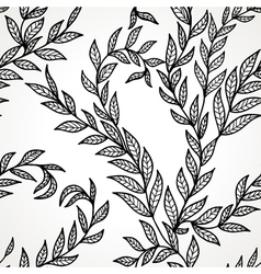 Seamless hand drawn pattern vector