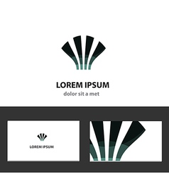 Abstract logo design template for business vector image vector image