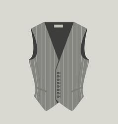 Elegant vests vector