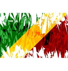 Flag of Republic of the Congo vector image vector image