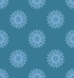 light blue seamless pattern of openwork stars vector image vector image