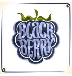 Logo for blackberry vector