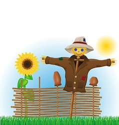 scarecrow 02 vector image vector image