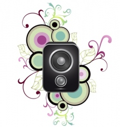 speaker illustration vector image