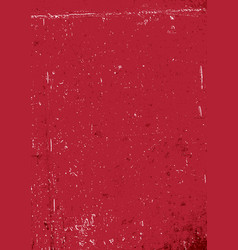 Red grunge background blank aged red paper vector