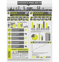 Infographic work vector