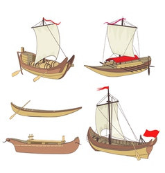 Ship set vector