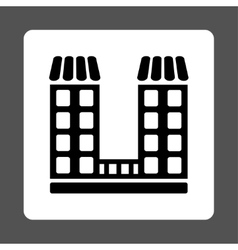 Company icon vector image vector image