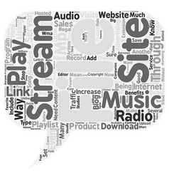 Jp blog radio text background wordcloud concept vector
