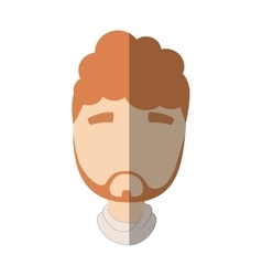 Man male avatar isolated vector