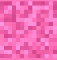 Pixel square mosaic background - geometric vector