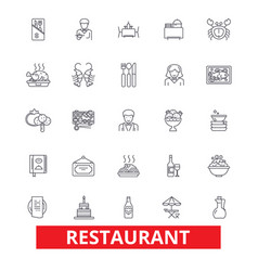 Restaurant diner menu pub culinary bar vector