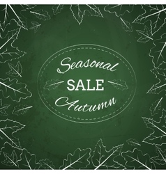 Season autumn sale vector image vector image
