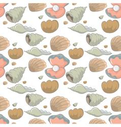 shellfish vector image