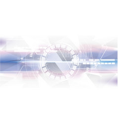 technological geometric colorful scanning vector image vector image