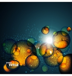 Abstract amber background vector