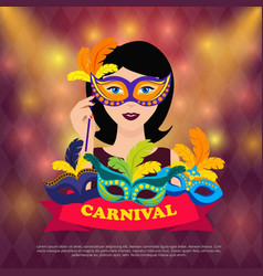 Ball carnival design vector