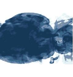 Explosion smoke cloud watercolor ink swirling in vector
