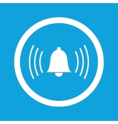 Alarm sign icon vector