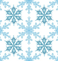 Festive seamless pattern with blue colored vector