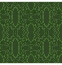 Seamless texture on green vector