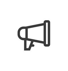 megaphone icon symbol vector image