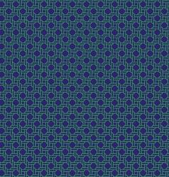 Navy green rope pattern vector