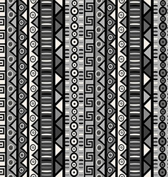 Seamless pattern with tribal ornaments for vector