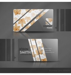 Business card design vector