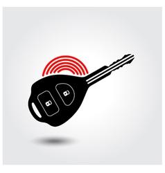 Car remote key symbol vector