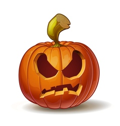 Pumpkins angry 2 vector