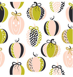 seamless pattern with cute glamorous sparkling vector image vector image