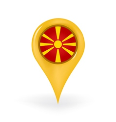 Location macedonia vector