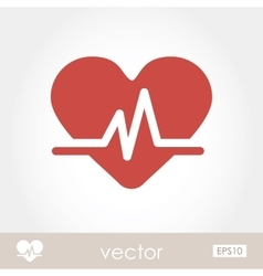 Blood pressure icon vector