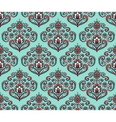 Vintage ornate seamless pattern with eastern vector