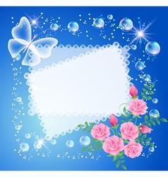 magic background vector image