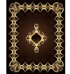 precious design vector image vector image