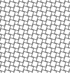 Seamless angular square pattern background vector