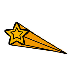 star shape symbol vector image vector image