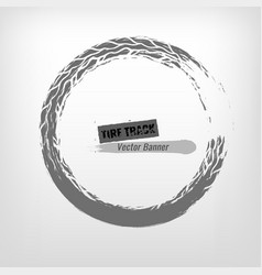 Tire grunge stamp vector