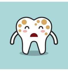 Dental hygiene design vector