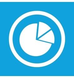 Diagram sign icon vector