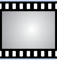 film strip with space for your text or image seaml vector image