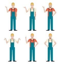 Set of builders2 vector