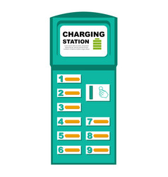 Phone charging station vector