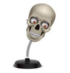 Skull souvenir vector