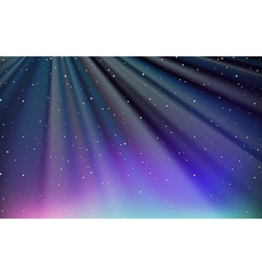 Background design with blue sky at night vector image
