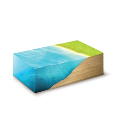 3D Environment graphic vector image