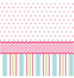Seamless pattern walpaper vector image