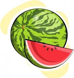watermelon vector image vector image